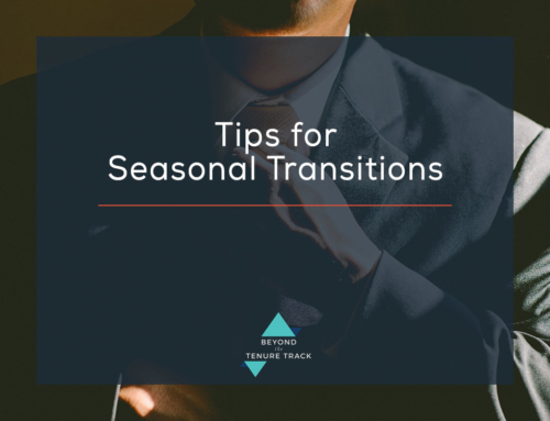 Tips for Seasonal Transitions