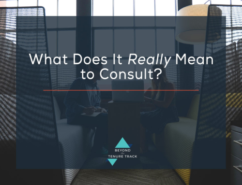 What does it REALLY mean to Consult?