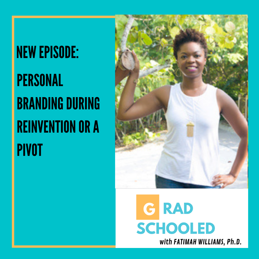 Personal Branding During Reinvention or a Pivot